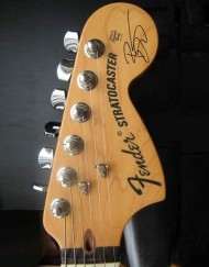 David Bowie Headstock