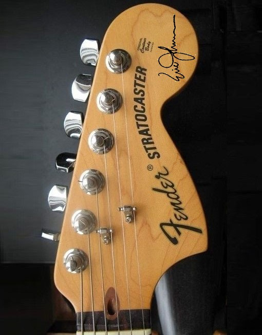 Eric Johnson Headstock