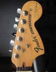 Jeff Beck Headstock