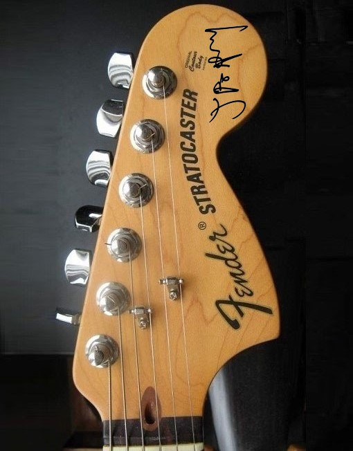 Joe Perry Headstock