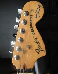 Keith Richards Headstock