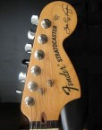 Stevie Ray Vaughan Headstock