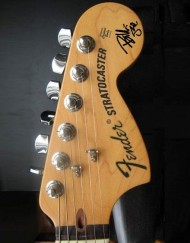 Billie Joe Armstrong Headstock